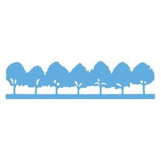Marianne Design Stanz- und Prägeschablone, Allee-Bäume