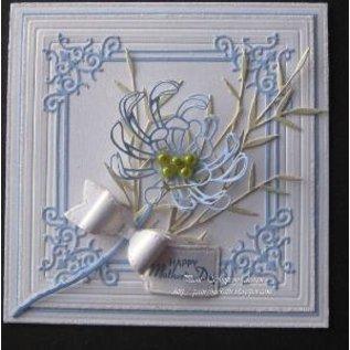 Spellbinders und Rayher Stansning og prægning skabeloner Shapeabilities, romantiske blomster
