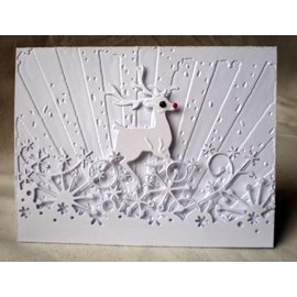 Marianne Design Cutting and embossing stencils, reindeer