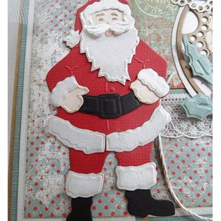Marianne Design Skæring og prægning stencils, Santa Claus