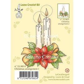 Leane Creatief - Lea'bilities Transparent Stempel, Kerzen