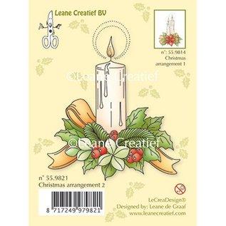 Leane Creatief - Lea'bilities Transparent Stempel, Eine Kerze