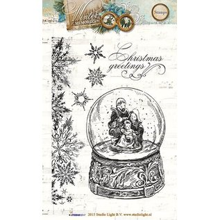 Studio Light Transparent Stempel, Winter memories