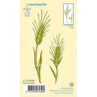 Leane Creatief - Lea'bilities Gennemsigtige frimærker, korn ører