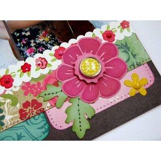 Carta Bella und Echo Park 30 Brads décoratifs et 5 étiquettes