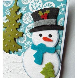 Marianne Design Skæring og prægning stencils snemand