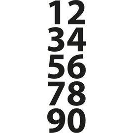 Marianne Design Corte e de estampagem estênceis, pequenos números