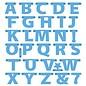 Marianne Design Skæring og prægning stencils, breve Garland