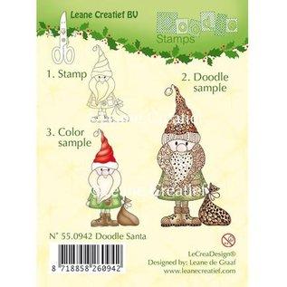 Leane Creatief - Lea'bilities Doodle stempel, Julemanden