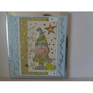 Leane Creatief - Lea'bilities Doodle stempel, Santa Claus