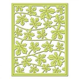 Spellbinders und Rayher Stanz- und Prägeschablone, Metallschablone Shapeabilities, Card Fronts / Blätter