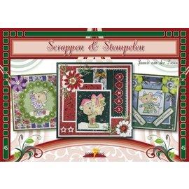 Bücher und CD / Magazines Bastelbuch, scrapbooking, stamping