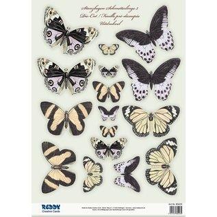 Embellishments / Verzierungen SONDERANGEBOT! SET mit 2 Stanzbogen, mit über 30 Schmetterlinge!