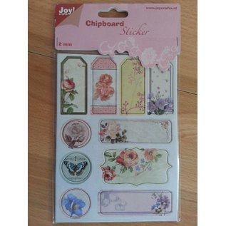 Joy!Crafts / Hobby Solutions Dies 10 Chipboards Sticker, 2mm dick