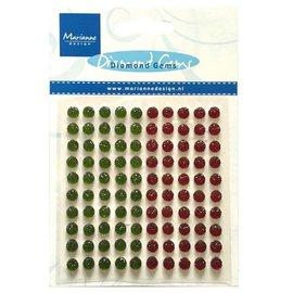 Embellishments / Verzierungen 80 Selbstklebende Diamant Perlen