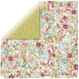 Designer Papier Scrapbooking: 30,5 x 30,5 cm Papier Papier Designer, roses