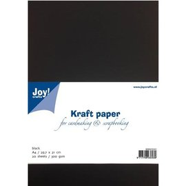 Joy!Crafts Kraftpapier schwarz