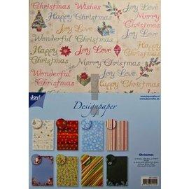 Joy!Crafts / Jeanine´s Art, Hobby Solutions Dies /  Bloco Designer, bloco de papel A4, o Natal