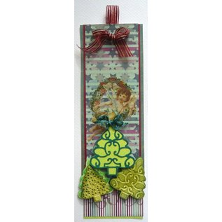 Joy!Crafts / Jeanine´s Art, Hobby Solutions Dies /  Stamping and embossing stencil, 3 Christmas trees