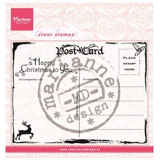 Marianne Design Transparent Stempel, Marianne Design, Post Card