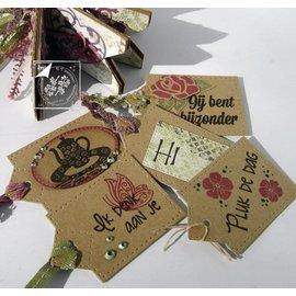Joy!Crafts / Hobby Solutions Dies selos transparentes, Amor Início