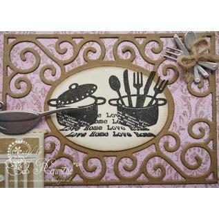 Joy!Crafts / Hobby Solutions Dies Gennemsigtige frimærker, glæde, kærlighed Hjem