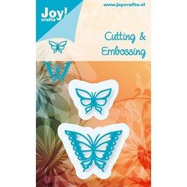 Joy!Crafts / Hobby Solutions Dies Stempling og Embossing stencil, Joy Crafts, Sommerfugle