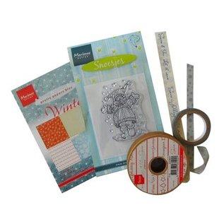 Joy!Crafts / Jeanine´s Art, Hobby Solutions Dies /  Blandet pakke, koordineret, Vintertid