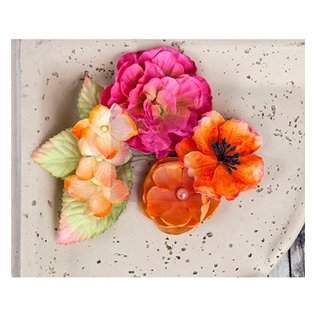 Prima Marketing und Petaloo Flowers and leaves from Prima Marketing, 9 pieces