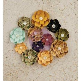 Prima Marketing und Petaloo Blumen von Prima Marketing, Paper Flowers Tell Time, 12 Blumen