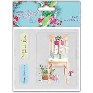 Docrafts / Papermania / Urban Clear stempels, kerst motieven