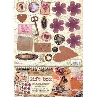 Dekoration Schachtel Gestalten / Boxe ... nostalgische Pilowbox, Geschenkschachtel