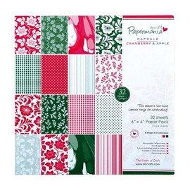 Karten und Scrapbooking Papier, Papier blöcke Designersblock, 15x15cm, Noël
