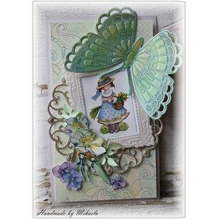Marianne Design Indsamles Tiny s butterfly 1, maske + stempel