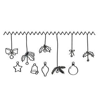 Marianne Design Transparenter Stempel, Weihnachtsmotive