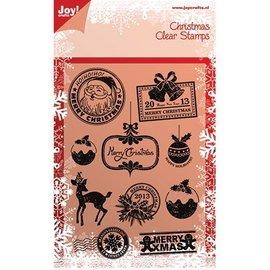 Joy!Crafts / Hobby Solutions Dies Timbri trasparenti, motivi natalizi