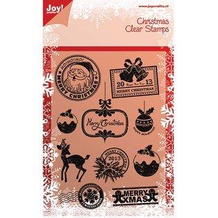 Joy!Crafts / Hobby Solutions Dies Timbres claires, des motifs de Noël