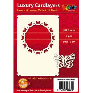 KARTEN und Zubehör / Cards dispositions de cartes de luxe, 3 pièces