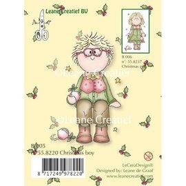 Leane Creatief - Lea'bilities und By Lene Gennemsigtige frimærker, jul dreng