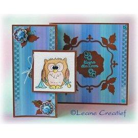 Leane Creatief - Lea'bilities Transparenter Stempel, kleine Eule Tweetke