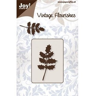Joy!Crafts / Hobby Solutions Dies Punching and embossing template, holly leaves