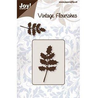 Joy!Crafts / Jeanine´s Art, Hobby Solutions Dies /  Stansning og prægning skabelon, kristtorn blade