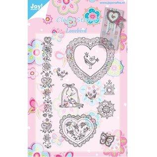 Joy!Crafts / Hobby Solutions Dies Gennemsigtige frimærker Lovebirds