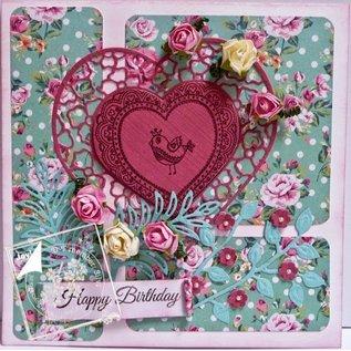 Joy!Crafts / Jeanine´s Art, Hobby Solutions Dies /  Gennemsigtige frimærker Lovebirds