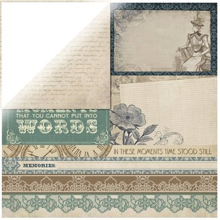 "Designer Papier Scrapbooking: 30,5 x 30,5 cm Papier Scrapbooking Designer Series papir, ""Couture Collection Edition II"""