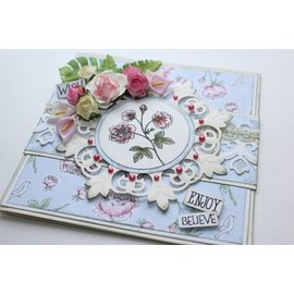 Joy!Crafts / Jeanine´s Art, Hobby Solutions Dies /  Transparenter Stempel, Vintage Rosen