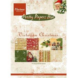 DESIGNER BLÖCKE / DESIGNER PAPER DESIGNER BLOCK: Pretty: A5, Victoriaanse Kerstmis