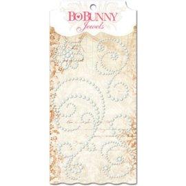BO BUNNY Bo Bunny frosting jewels, selbstklebende Perlen