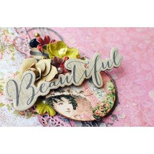 Embellishments / Verzierungen Ornements, feuilles, Bella Rouge