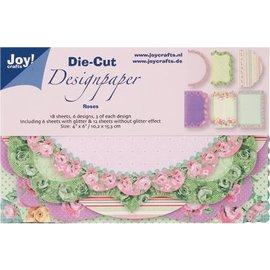 Joy!Crafts / Hobby Solutions Dies Joy! Crafts Die Cut Design Paper Roses